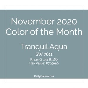 Color of the Month - November 2020