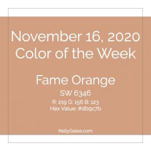 Color of the Week - November 16 2020