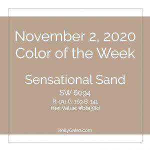 Color of the Week - November 2 2020