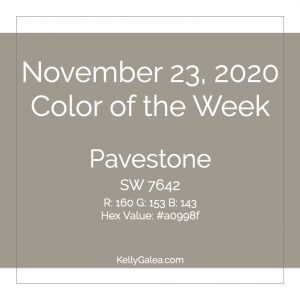 Color of the Week - November 23 2020