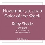 Color of the Week - November 30 2020