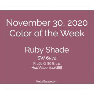 Color of the Week - November 30 2020