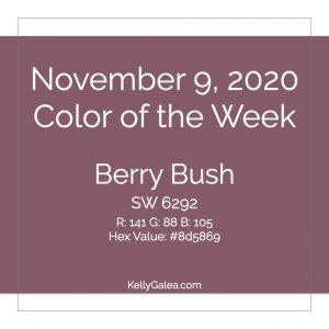 Color of the Week - November 9 2020
