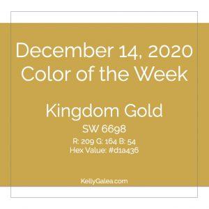 Color of the Week - December 14 2020