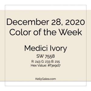 Color of the Week - December 28 2020