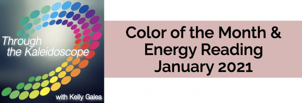 Color & Energy Reading for January 2021