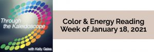 Color & Energy Reading for the Week of January 18 2021