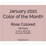 Color of the Month - January 2021