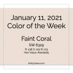 Color of the Week - January 11 2021