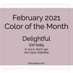 Color of the Month - February 2021