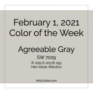 Color of the Week - February 1 2021