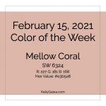 Color of the Week - February 15 2021