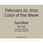 Color of the Week - February 22 2021