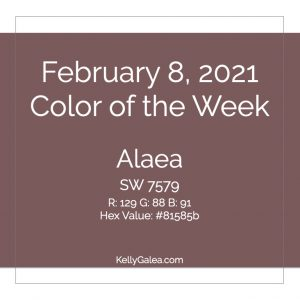 Color of the Week - February 8 2021