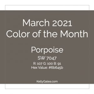 Color of the Month - March 2021