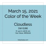 Color of the Week - March 15 2021