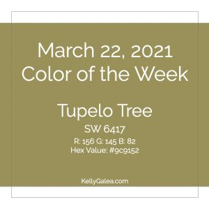 Color of the Week - March 22 2021
