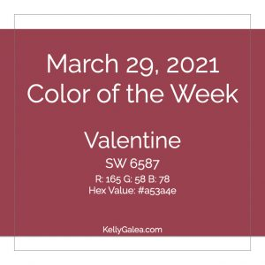 Color of the Week - March 29 2021