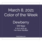 Color of the Week - March 8 2021