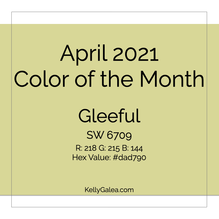 Color of the Month - April 2021