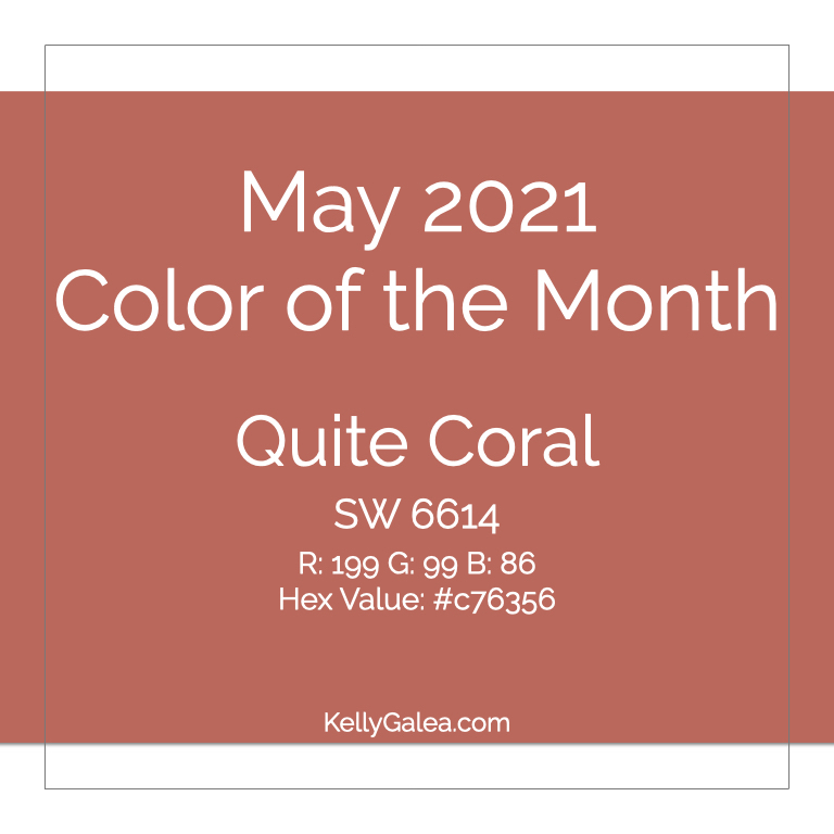 Color of the Month - May 2021