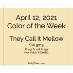 Color of the Week - April 12 2021