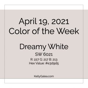 Color of the Week - April 19 2021