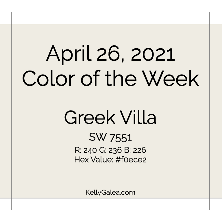 Color of the Week - April 26 2021