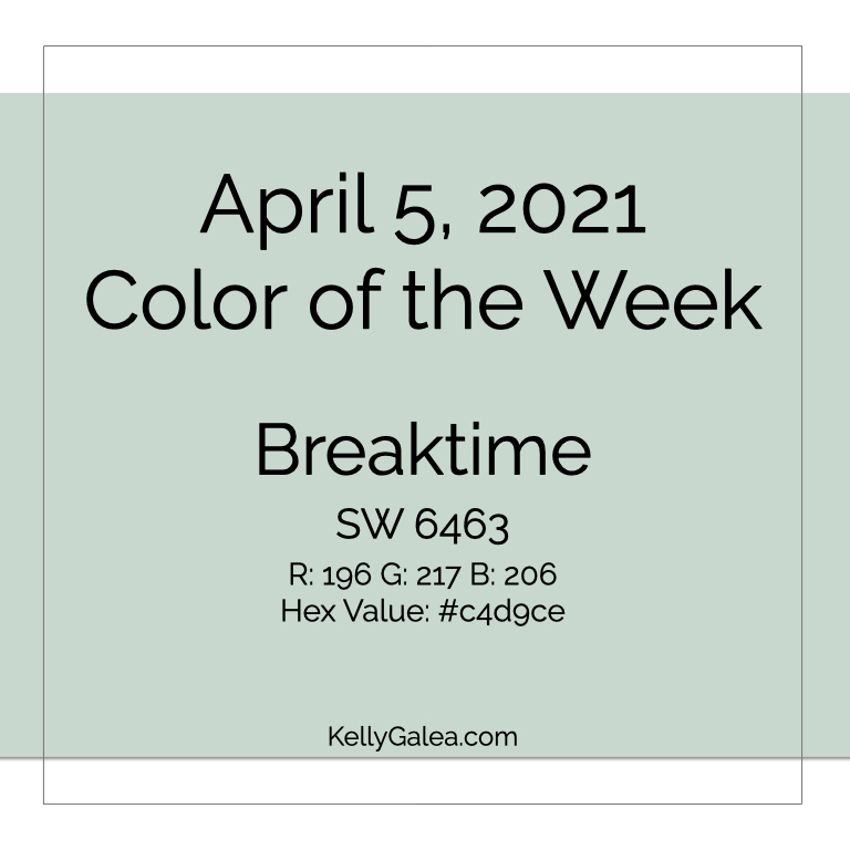 Color of the Week - April 5 2021