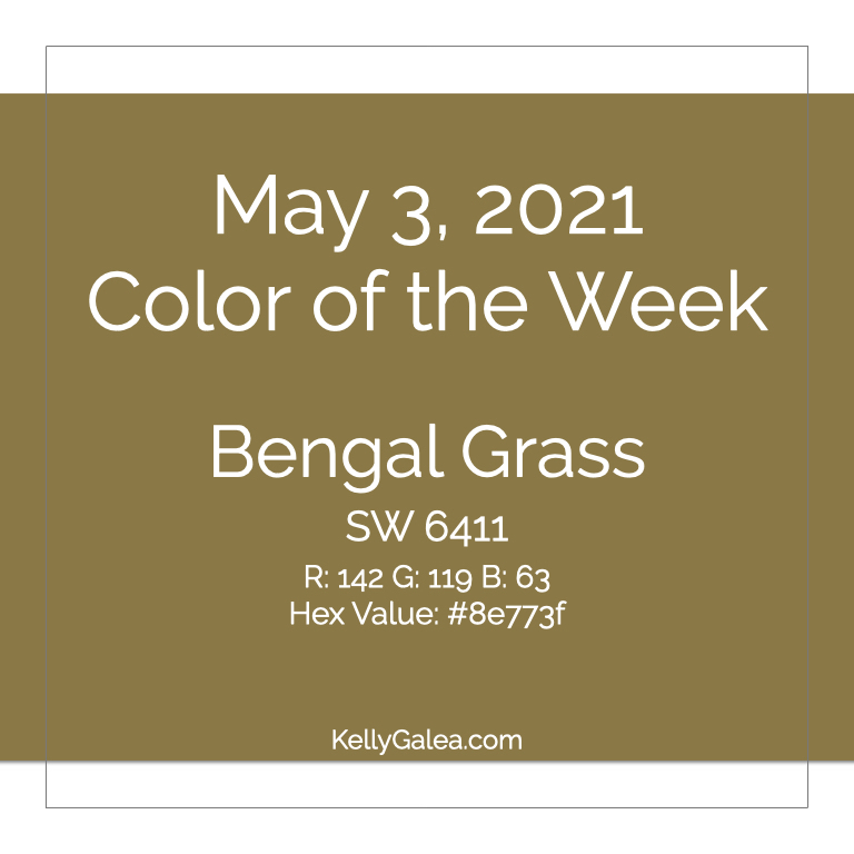 Color of the Week - May 3 2021