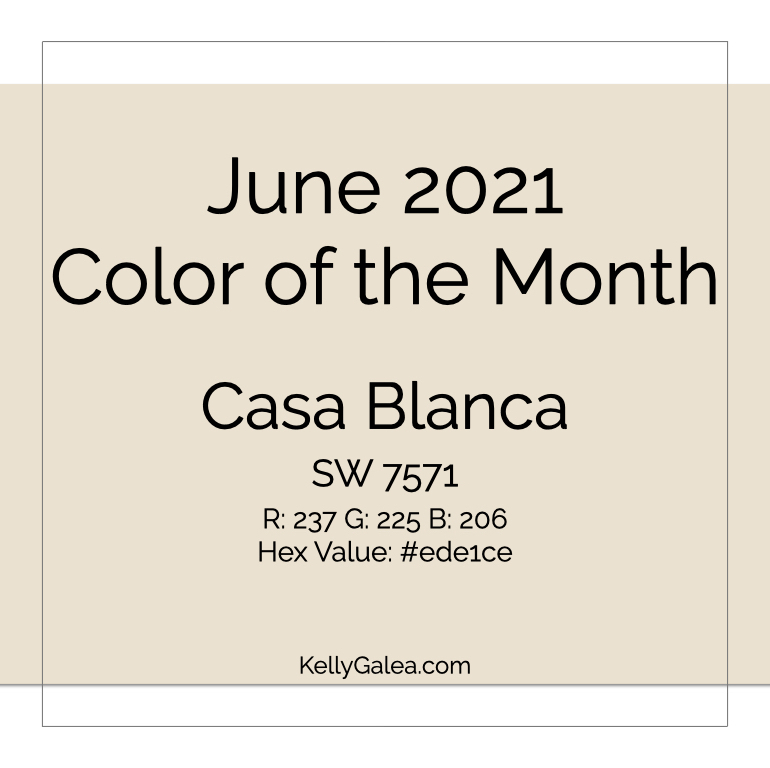 Color of the Month - June 2021