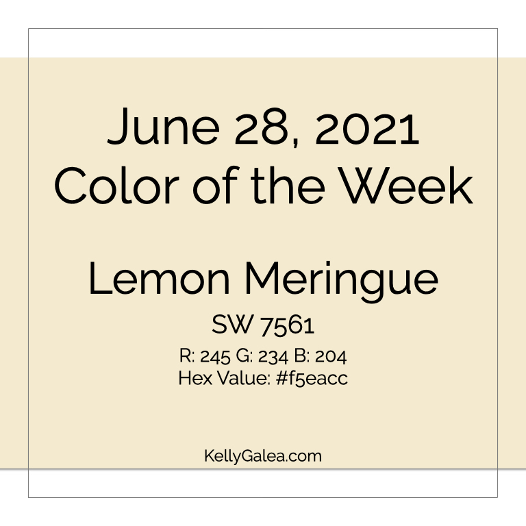 Color of the Week - June 28 2021