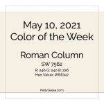 Color of the Week - May 10 2021