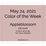 Color of the Week - May 24 2021