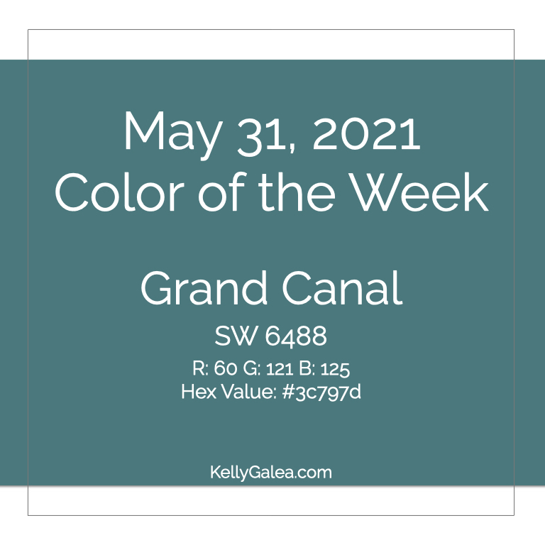 Color of the Week - May 31 2021