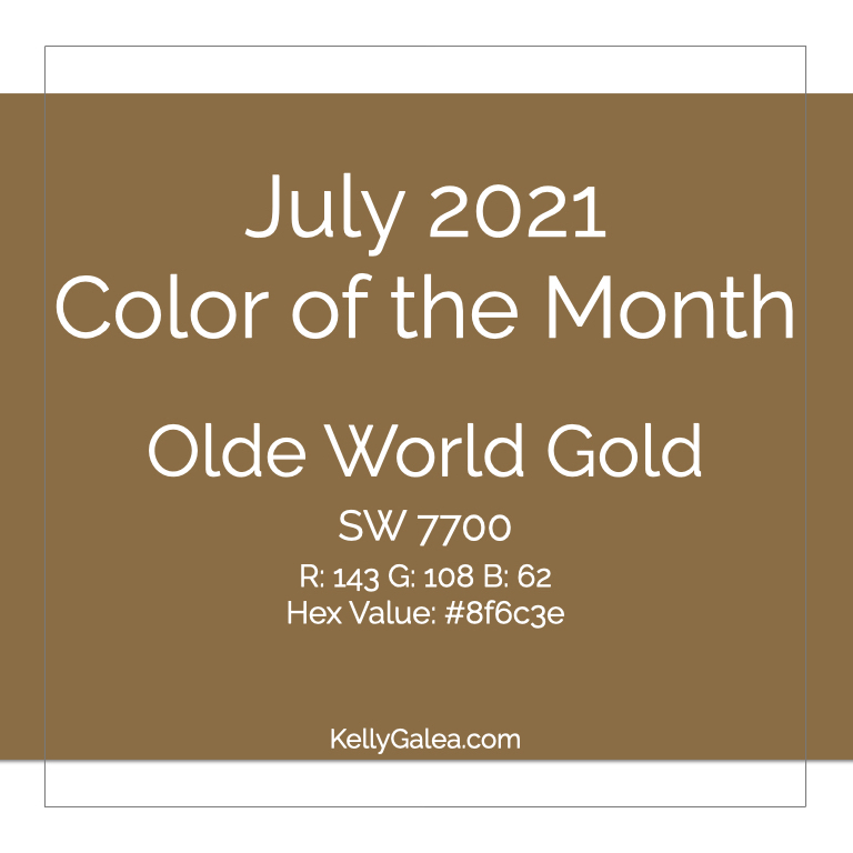 Color of the Month - July 2021