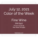 Color of the Week - July 12 2021
