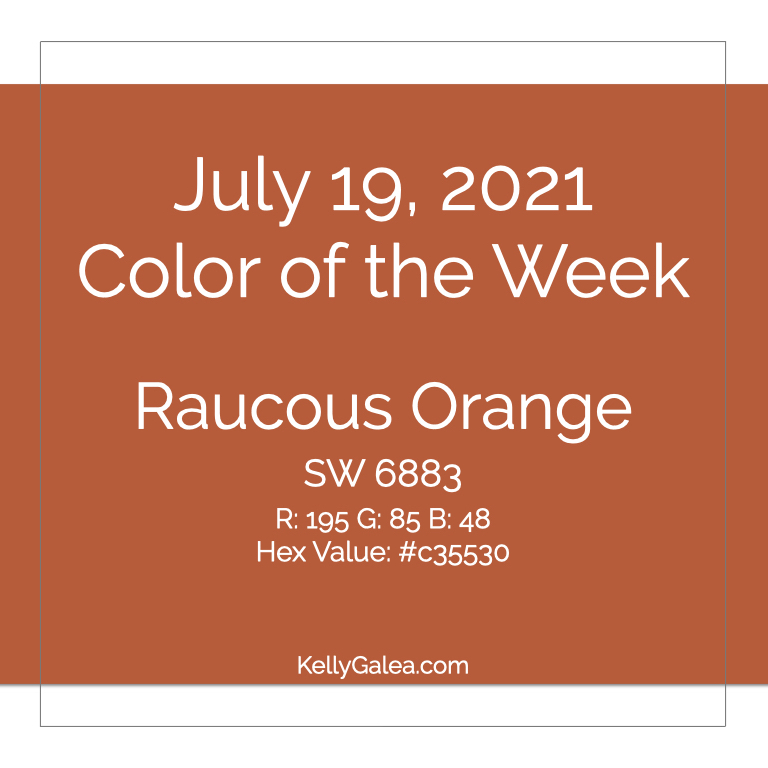 Color of the Week - July 19 2021