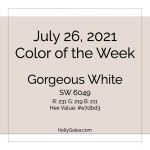 Color of the Week - July 26 2021