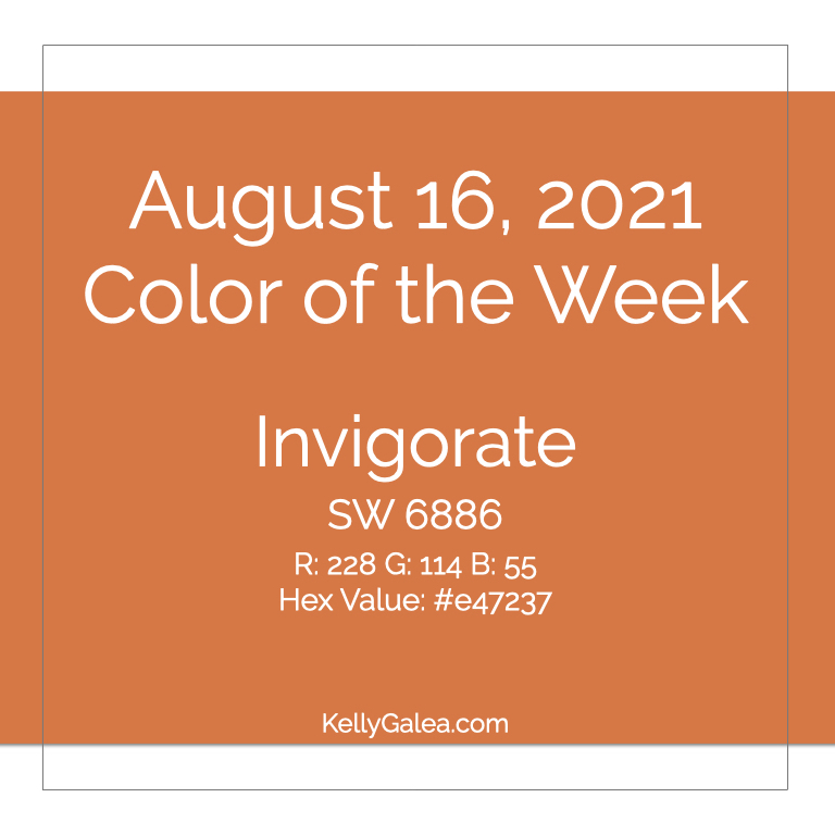 Color of the Week - August 16 2021