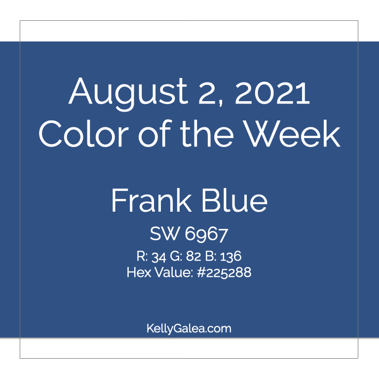 Color of the Week - August 2 2021