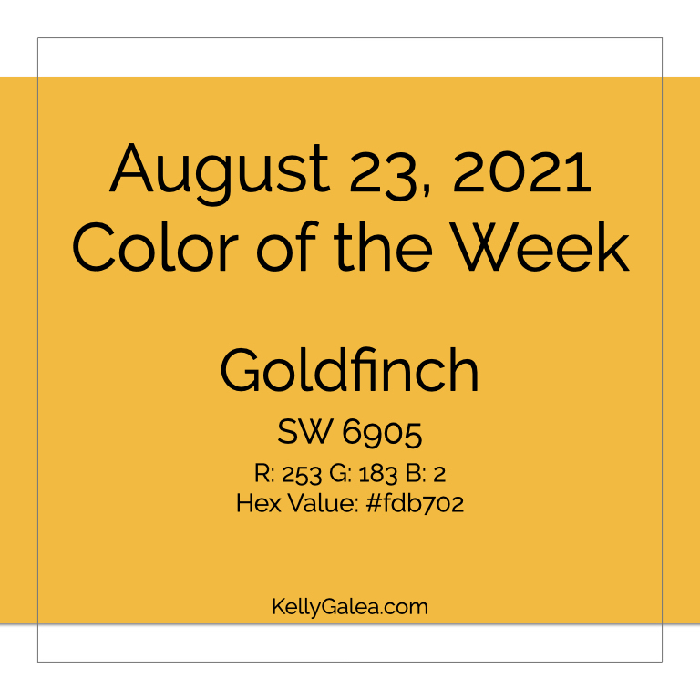 Color of the Week - August 23 2021