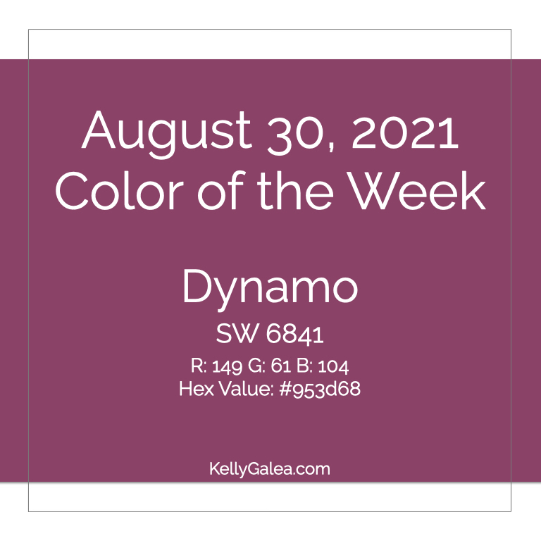 Color of the Week - August 30 2021