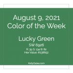 Color of the Week - August 9 2021