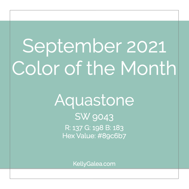 Color of the Month - September 2021