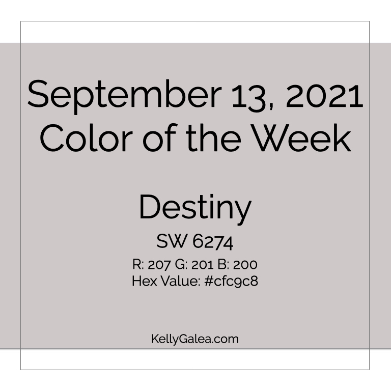 Color of the Week - September 13 2021