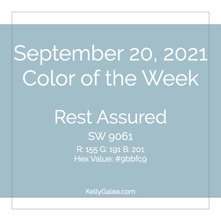 Color of the Week - September 20 2021
