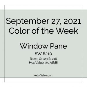 Color of the Week - September 27 2021
