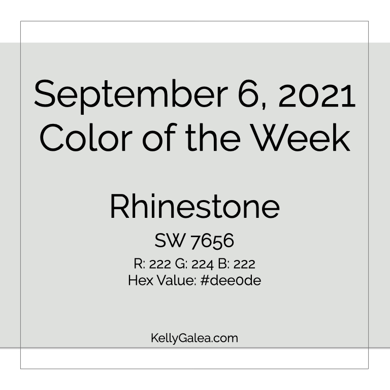 Color of the Week - September 6 2021