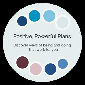 Positive, Powerful Plans Color Wisdom Oracle card description